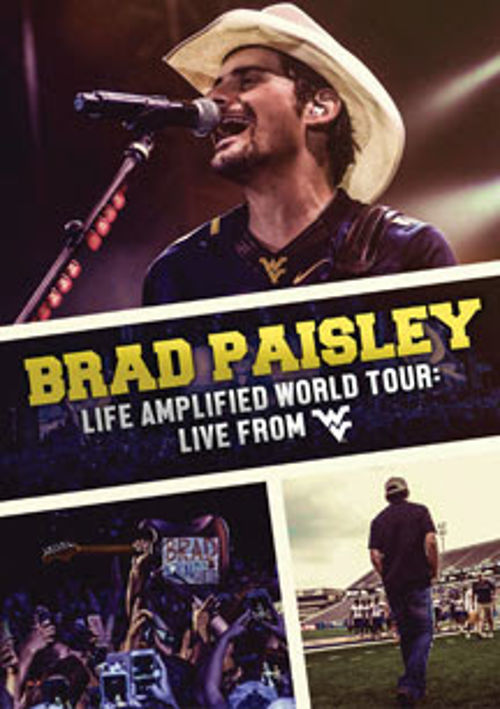 Brad Paisley Life Amplified World Tour Live From Wvu