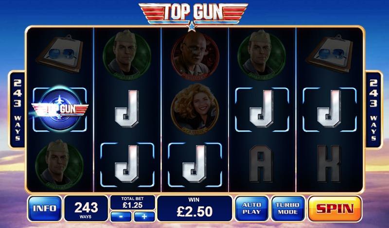 top gun slot online